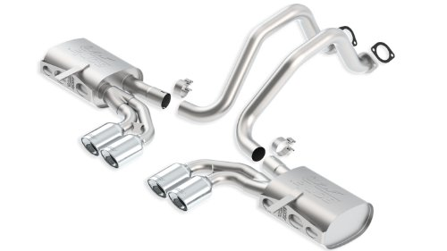 Chevrolet Corvette Borla Exhaust - Borla 140428 Cat-Back ATAK System