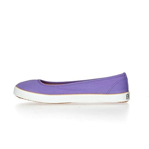 Ethletic Raccolta Fiera Ballerino 17 - Pioggia Colore Viola In Cotone Biologico