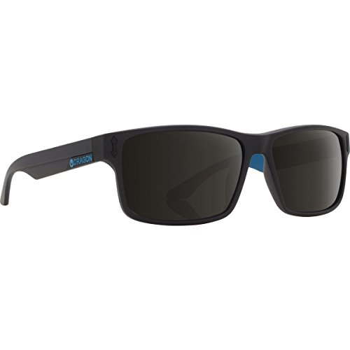 Dragon COUNT Sunglasses, Matte Black - Dragon Blue Sunglasses