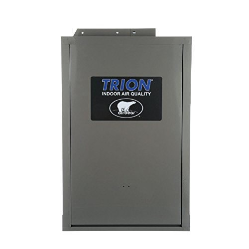 - Trion 266380-011 - Air Bear Right Angle-HD Media Air Cleaner- MERV 8, Warm Grey