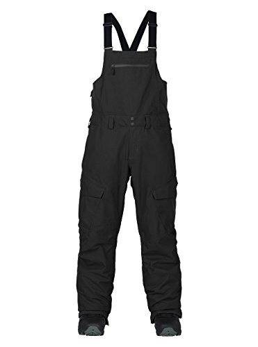 Burton Men's Reserve Bib Pants, True Black, XX Large