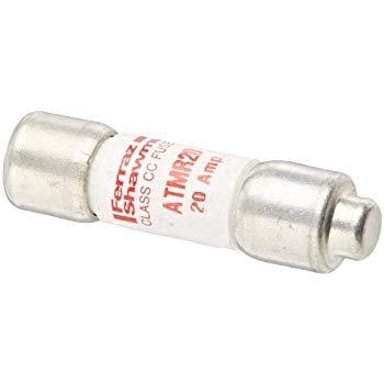 Mersen ATMR20 600V 20A Cc Fuse, 10-Pack