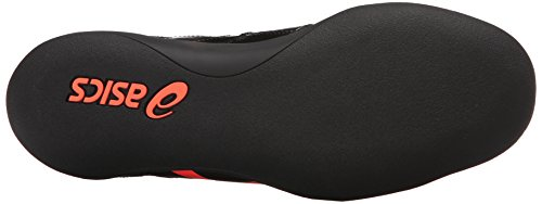 Scarpa da pista Pro Throw da uomo, Corallo nero / Flash, 5 M US