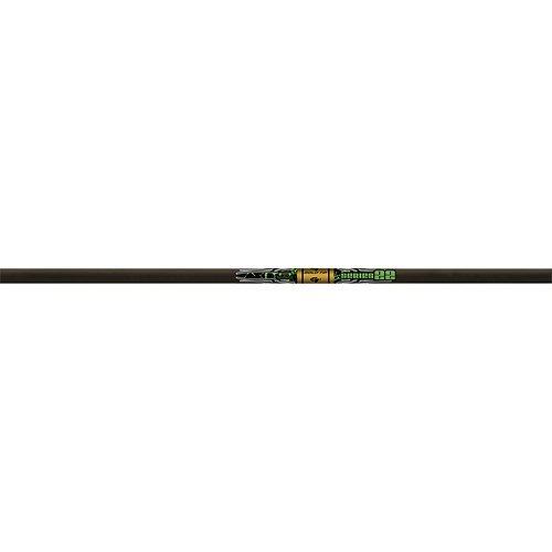 Gold Tip Series 22 Shafts (One Dozen), großer Durchmesser Carbon – Target, schwarz by Gold Tip
