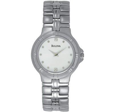 Bulova mens Stainless Steel Dress Watch 96D02