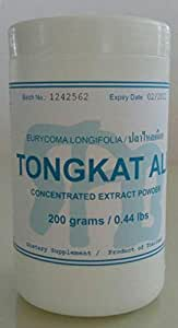 Tongkat Ali Concentrated Extract Powder 200 Grams