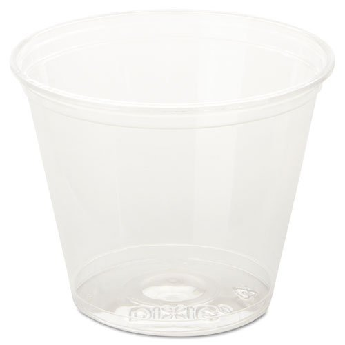 DIXCC9K Clear Cold Plastic Cups, 9 oz, Squat by DIXCC9K by DIXCC9K