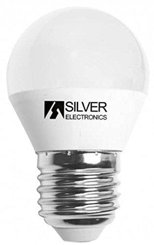 Silver Electronics 961727 Bombillas, 5000 K E27, 7 W, Blanco: Amazon.es: Iluminación