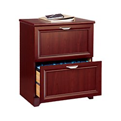 Realspace(R) Magellan Collection 2-Drawer Lateral File Cabinet, 30In.H X 23 1/2In.W X 16 1/2In.D, Classic Cherry