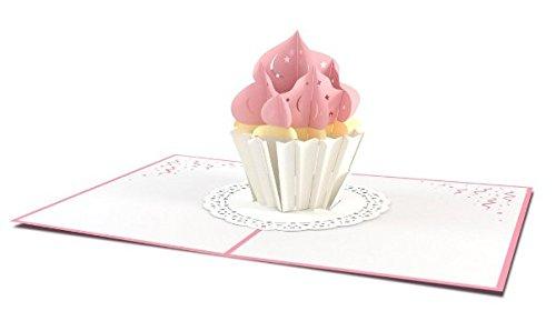 Lovepop Cupcake Birthday Pop Up Card
