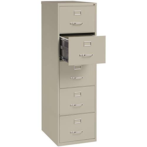 File Vertical Cabinet (Lorell LLR48502 Commercial Grade Vertical File Cabinet, Light Gray)