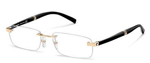 c5e9adbb6974 Mont Blanc Luxury Frame MB 9101 E69 Rimless  Amazon.in  Clothing    Accessories
