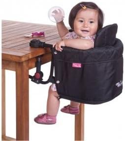Trona negra para colgar de la mesa de Childwheels: Amazon.es: Bebé