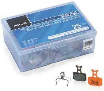 Xlc Pastillas Freno Disco Form. Mega One Caja de Taller, con 25 Set, Baseline, Adultos Unisex, Negro, Size: Amazon.es: Deportes y aire libre