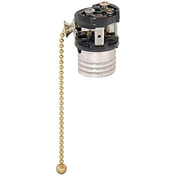 B Amp P Lamp Pull Chain Socket Interior For Fat Boy Socket