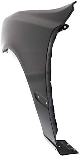 Front Fender Compatible with 2000-2002 Hyundai Accent with Rocker Panel Molding Holes Driver Side