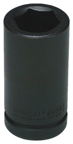 Wright Tool 6950 1-9//16-Inch with 3//4-Inch Drive 6 Point Deep Impact Socket