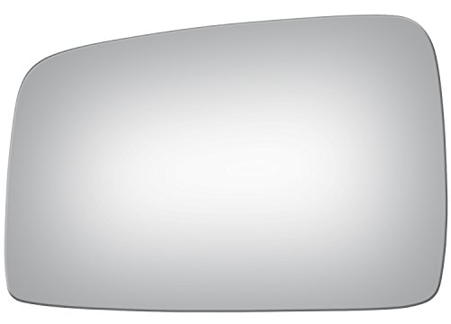 (Burco 4113 Flat Driver Side Replacement Mirror Glass for 05-10 Kia Sportage (2005, 2006, 2007, 2008, 2009, 2010))