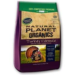 Natural Planet Organics Turkey Dog Food 5lb
