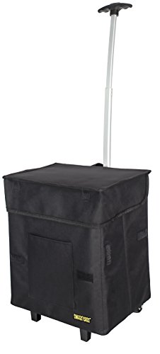 Smart Cart, BLACK  Rolling Multipurpose Collapsible Basket Cart Scrapbooking by dbest products