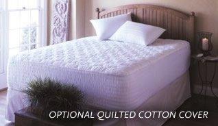 3'' 5lb. Sensus Visco Elastic Memory Foam Mattress Pad, Queen w/ cotton cover
