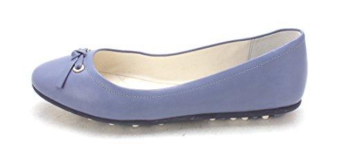 Cole Haan Womens Stacysam Closed Toe Slide Flats Sky Blue 169wohi