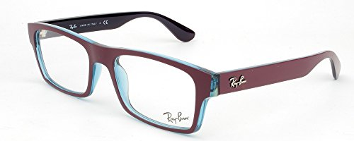 Ray Ban Optical Montures de lunettes RX7030 Pour Homme Matte Black / Transparent, 53mm 5399: Marc / Transparent Oil