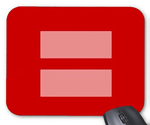 Price comparison product image Mouse Mat Marriage Equality Pattern Mouse Pad