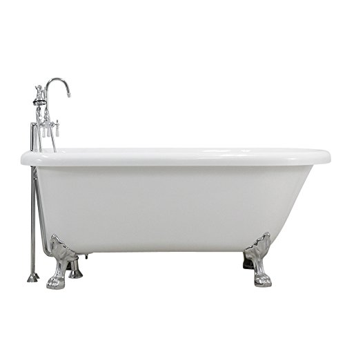 Classic Clawfoot Bathtub - Hotel Collection HLFL59FPK 59