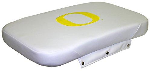 Wise NCAA Oregon Ducks Collegiate Premium Cooler Seat Cushion for Coolers, White, 50 quart -