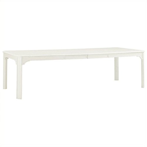 (Tommy Bahama Home Ivory Key Castel Harbour Dining Table in White)
