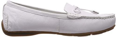 Blanco 000 Weber Mujer Shoes Gerry weiß Mocasines Para 02 Fidschi gdCqHzW0