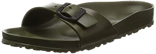 Birkenstock Madrid EVA Narrow Fit - Khaki 128253 (Green) Womens Sandals 38 EU by Birkenstock
