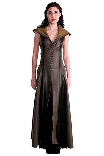 Pattistore Women's Gothic Archer Vintage Cosplay Costumes Sleeveless