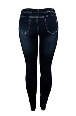 2LUV Women's 5 Pocket Ankle Stretch Skinny Jeans