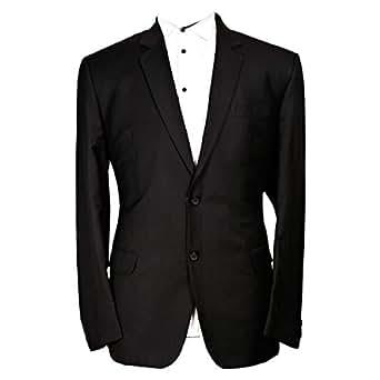 Libas Riyaz Gangji Black Viscose Blazer For Men