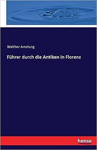 Book Führer durch die Antiken in Florenz