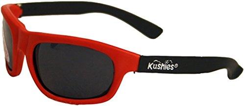 Kushies Kid Size Dupont Rubber Sunglasses with Polycarbonate Lenses (Newborn, - 0 Sunglasses Size