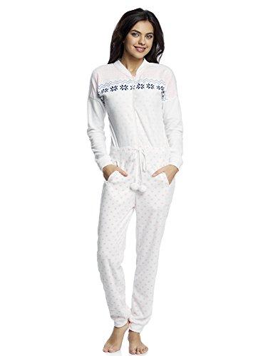 oodji Ultra Damen Haus-Jumpsuit