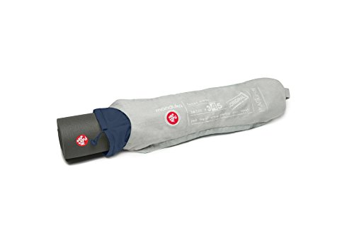 Manduka Journey ON Day Tripper Top Loading Yoga Mat Bag, Heather Grey/Sage