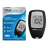 True Balance Glucose Meter Starter Kit, meter, case, and guide