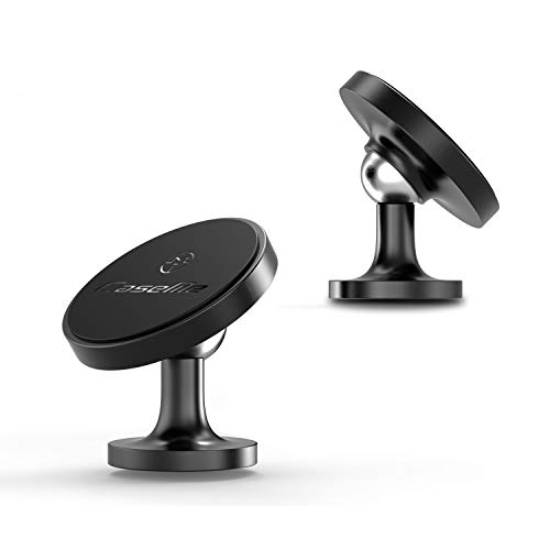 CaseMe Round Magnetic Cell Phone Holder for Car -360