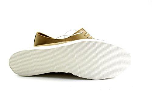 Silfer Shoes , Damen Schnürhalbschuhe beige beige