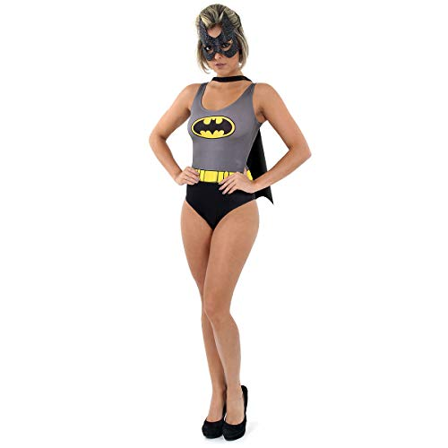 Fantasia Body Batman Adulto 960508-m Sulamericana Fantasias Cinza/preto Adulto
