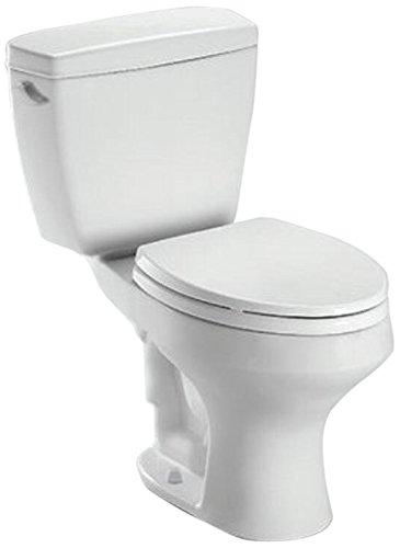 Round Toilet Bowl Sedona Beige 2-Piece Toto CST405F-12 Rowan 1.6 GPF