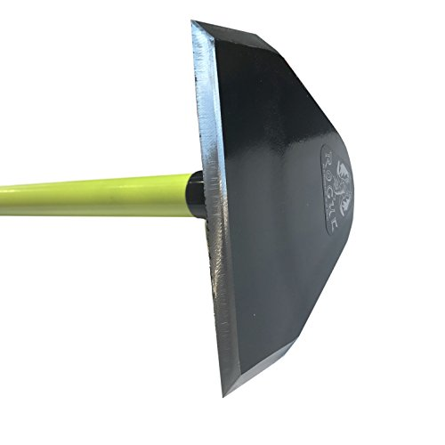 Rogue Prohoe Flat Garden and Field Hoe with 60'' Fiberglass Handle F60J | Made in USA | Sharp and Tough by Rogue (Image #2)