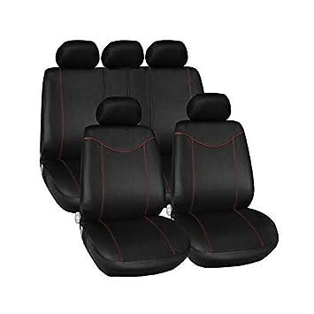 Amazon.es: Asiento de coche para asientos de coche cubre universal para Shuma Sorento Soul Spectra sportag Sportage 3 R stonic Venga