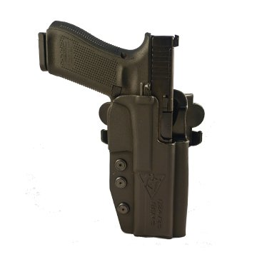 Comp-Tac International Holster - Glock 34 Gen 5 - Right - Black (Belt, Paddle, Drop Offset) IDPA USPSA 3GUN IPSIC