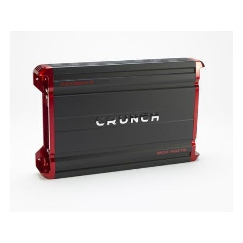Crunch PZX18004 4CH Amplifier, 1800W
