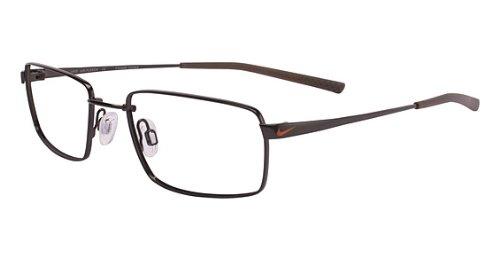 Nike Eyeglasses 4191 205 Shiny Dark Brown Demo 49 18 145